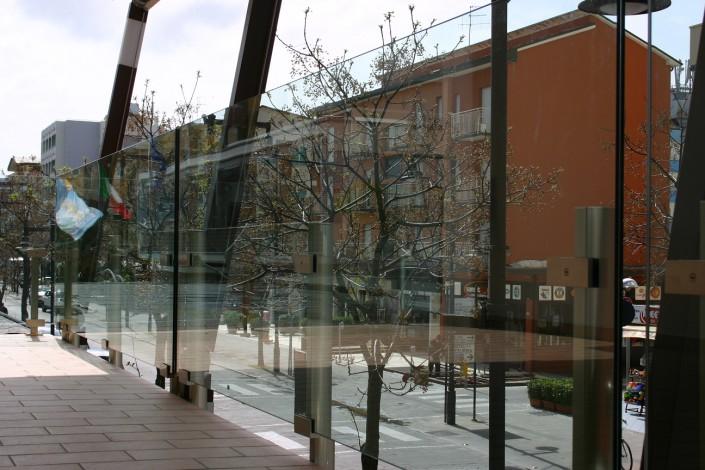 Balaustra in vetro Faraone Cesenatico (Forlì - Cesena)
