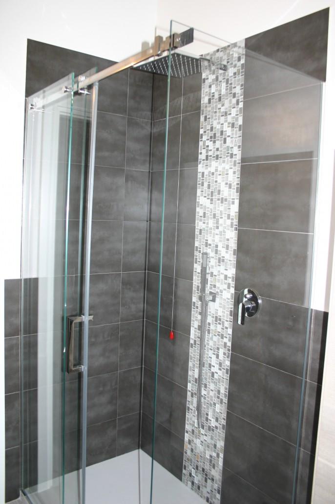 Box doccia su misura vetreria a rimini vetreria pari - Box doccia vetrocemento ...