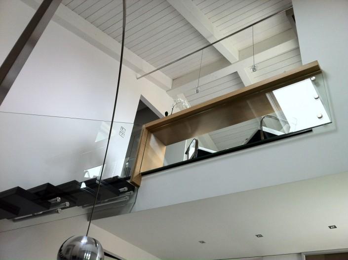 Parapetto in vetro Santarcangelo (Rimini)