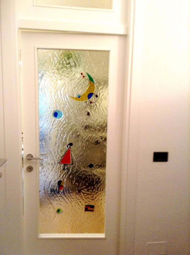 Porte in vetro porte scorrevoli in vetro vetreria a rimini vetreria pari - Vetri decorati per porte scorrevoli ...