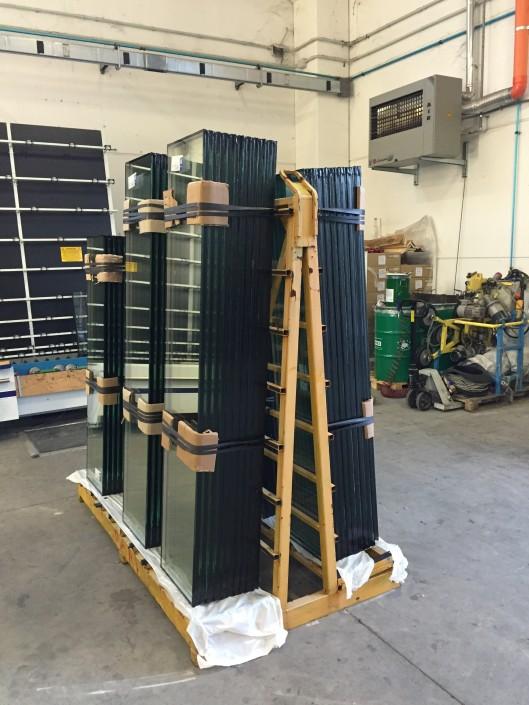 Produzione vetrocamera - vetri e vetrate isolanti