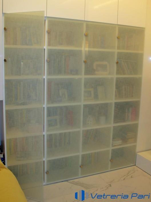 Ante per libreria in vetrotessuto Rimini