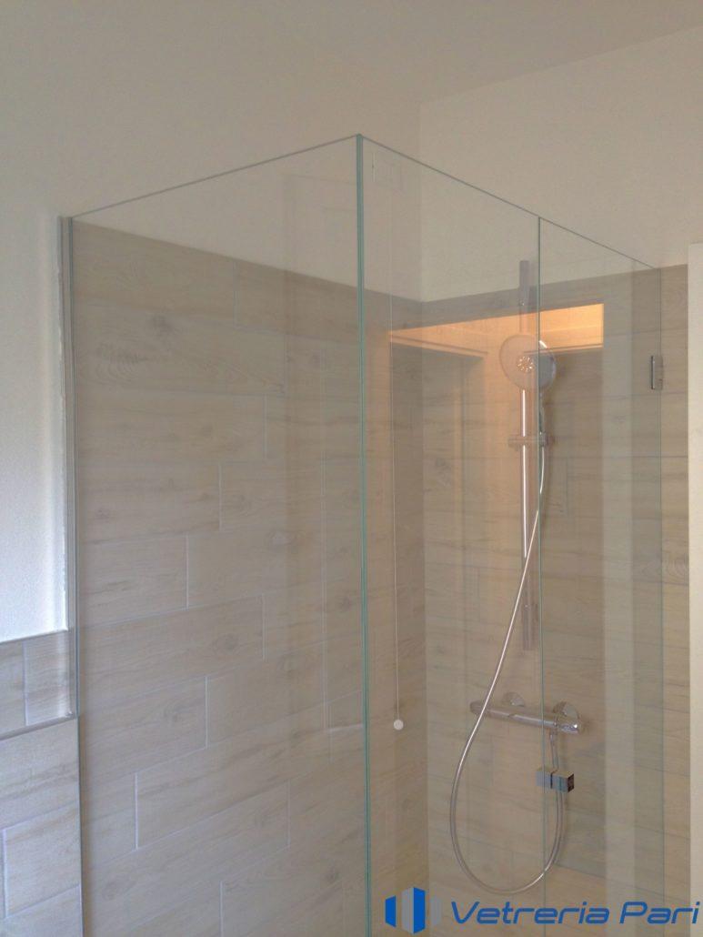 Box doccia su misura vetreria a rimini vetreria pari - Box doccia in vetro ...