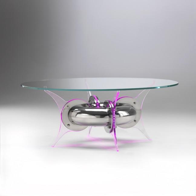 Vetro sagomato per tavolo www.lelicadeisogni.it