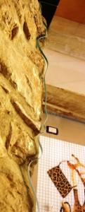 Vetro sagomato su roccia per box doccia Pesaro