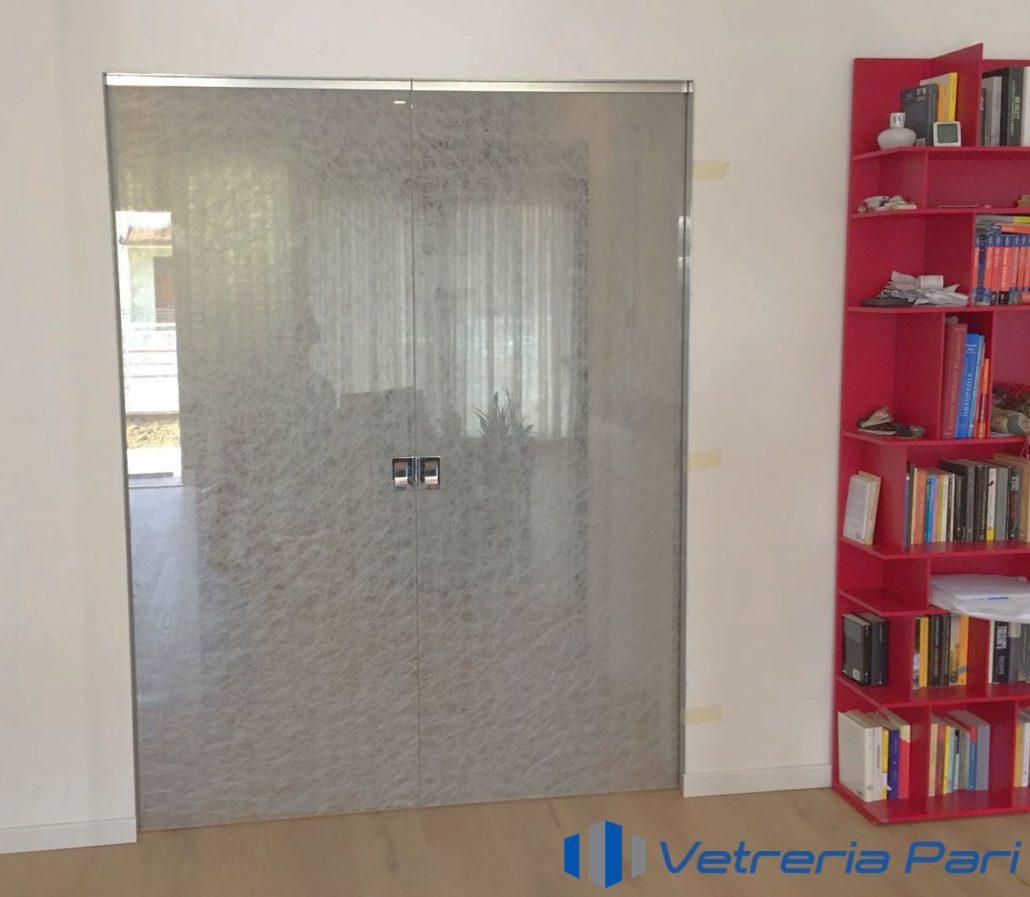 Porte Con Vetro Satinato porte in vetro-porte scorrevoli in vetro - vetreria a rimini